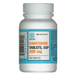 Ranitidine 300mg - 100 Tablets