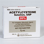 Acetylcystein 20% Solution - 30ml Vial