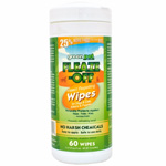 Green Pet Fleaze-Off Wipes