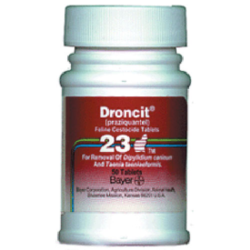 Droncit Tablets for Cats 23mg, 1ct