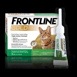 Frontline Gold For Cats Heartlandvetsupply Com