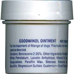 Goodwinol Ointment for Dogs