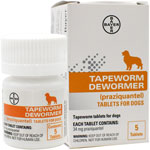 Tapeworm Dewormer for Dogs
