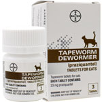 Tapeworm Dewormer for Cats