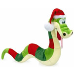 Holiday Santa Snake