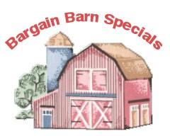 Bargain barn specials