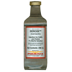 Ivermectin INJECTABLE Cattle Wormer - 250ml