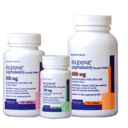 Rilexine (Cephalexin) Chewable Tablets