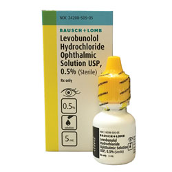Levobunolol Hydrochloride Ophthalmic Solution 0.5% - 5 ml