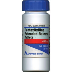 Pentoxifylline (Trental) Tablets