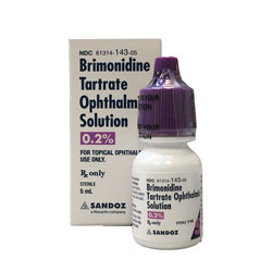 Brimonidine 0.2% Ophthalmic Solution - 5 ml