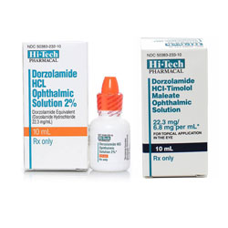 Dorzolamide HCL Ophthalmic Solution