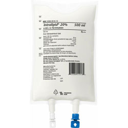 Intralipid 20% IV Fat Emulsion - 500 ml