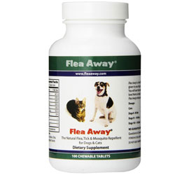Flea Away Chewable Tablets - 100 count
