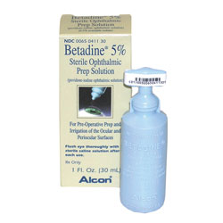 Betadine Ophthalmic 5% Solution