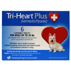 Tri Heart Plus Dogs 25 Lbs Amp Under