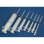 Disposable 3cc Syringe LEUR LOCK