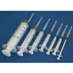 "Disposable 3cc Syringe - 20 x 1"" Needle"