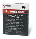 PowerBand Flea and Tick Collar for Dogs