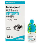 Latanoprost Ophthalmic Solution .005% - 2.5 ml