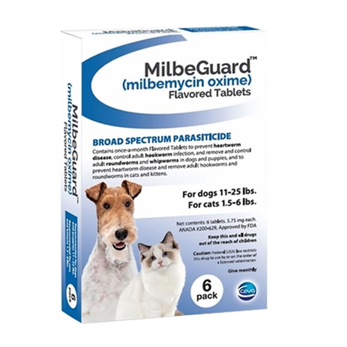 MilbeGuard Flavored Tablets