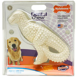 Nylabone Dental Dinosaur Dog Chew